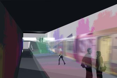 Subway Projected Landscape 02