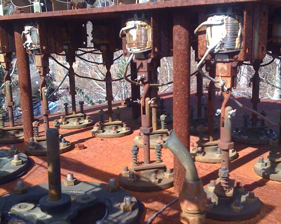 Rusted inflow controllers