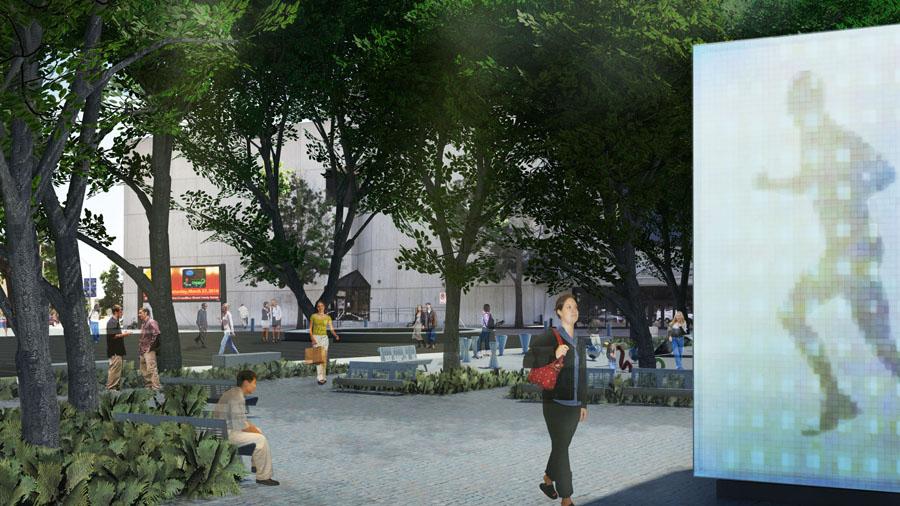 Nollen Plaza . Des Moines, IA . Ken Smith Landscape Architect